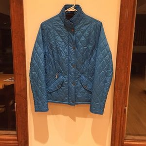 Barbour quilted coat size 8 M